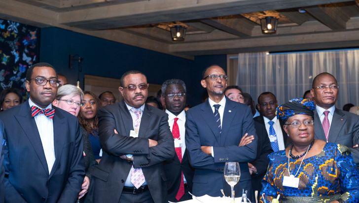 Kagame à Davos