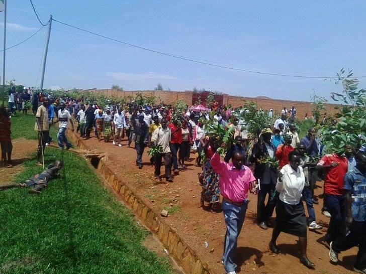 Marche contre le mendonge de Bernard Maingain