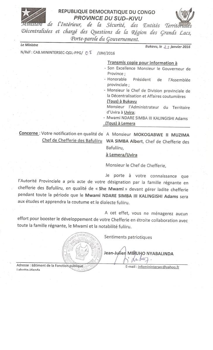 Notification Mukogabwe Albert 002