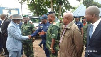 Uvira – RDC : Arrivée d'une forte délégation conduite par la Questeur de l'Assemblée Nationale, Honorables, Représentants des confessions religieuses et autres personnalités
