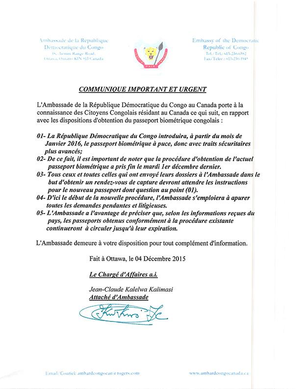 PASSEPORTS-BIOMETRIQUES-RDC