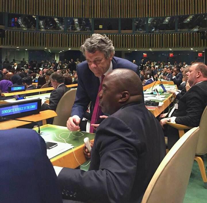 Joseph Kabila, new york climat_