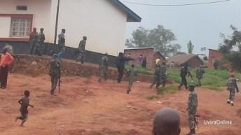 Lemera-RDC : Les coups de balles ont été entendus cet après-midi