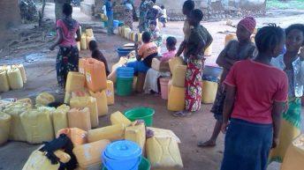 Uvira-RDC: Manque d'eau a Kijaga