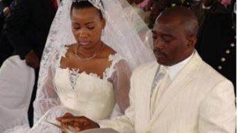 C'était: Un 17 juin… Le 17 juin 2006, Joseph Kabila se marie à Olive Lembe.