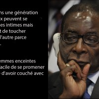 Sagesse: Quelques citations de Robert Mugabe