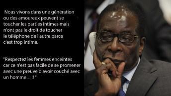 Sagesse: Quelques citations de Robert Mugabe