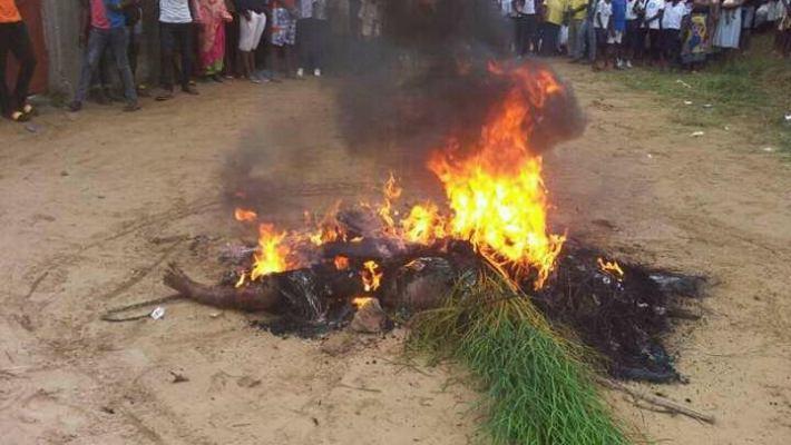 Uvira-RDC: Justice populaire, tueries; Trois personnes tuées dans moins d'une semaine