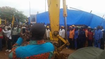 Uvira-RDC: Lancement officiel des travaux de construction de la voirie