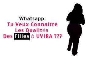Whatsapp: Tu Veux Connaitre Les Qualités Des Filles à UVIRA ???