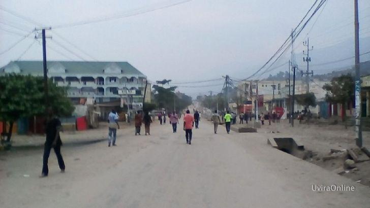 Uvira-RDC: observation d'une journée ville morte ce mardi 08/08/2017