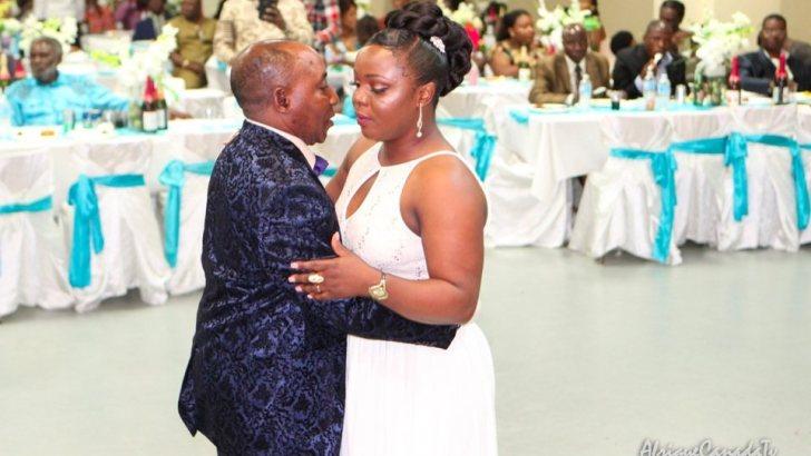 Expression du bonheur: Mariage de Felix Kangeta et Silvie Migombano à Montréal