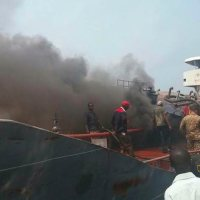 Kivovo-RDC: Un incendie sur un bateau cause un mort