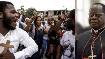 RDC : GCP à Monsengwo « la politique divise, l'église unit ! »