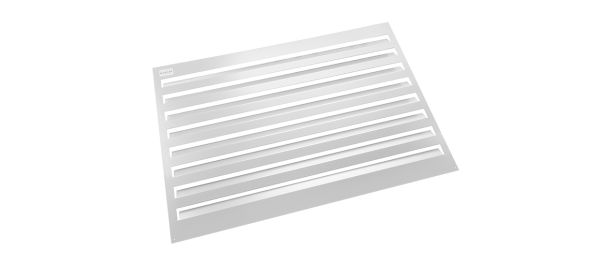 Evolar omkasting gepoedercoat aluminium wit Uw Airco