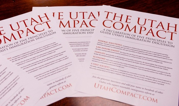 The Utah Compact Document