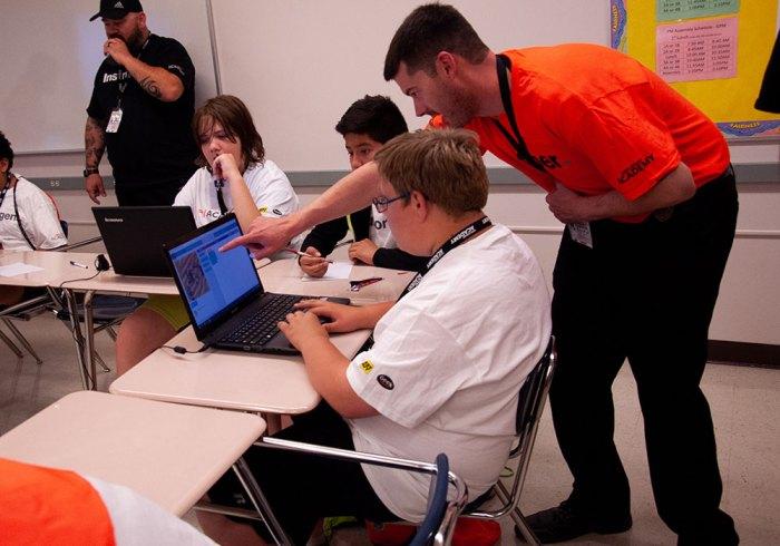 Geek Squad Academy- Community School Wins