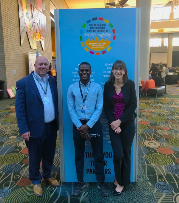 United Way of Salt Lake Staff at the United Nations Civil Society Conference