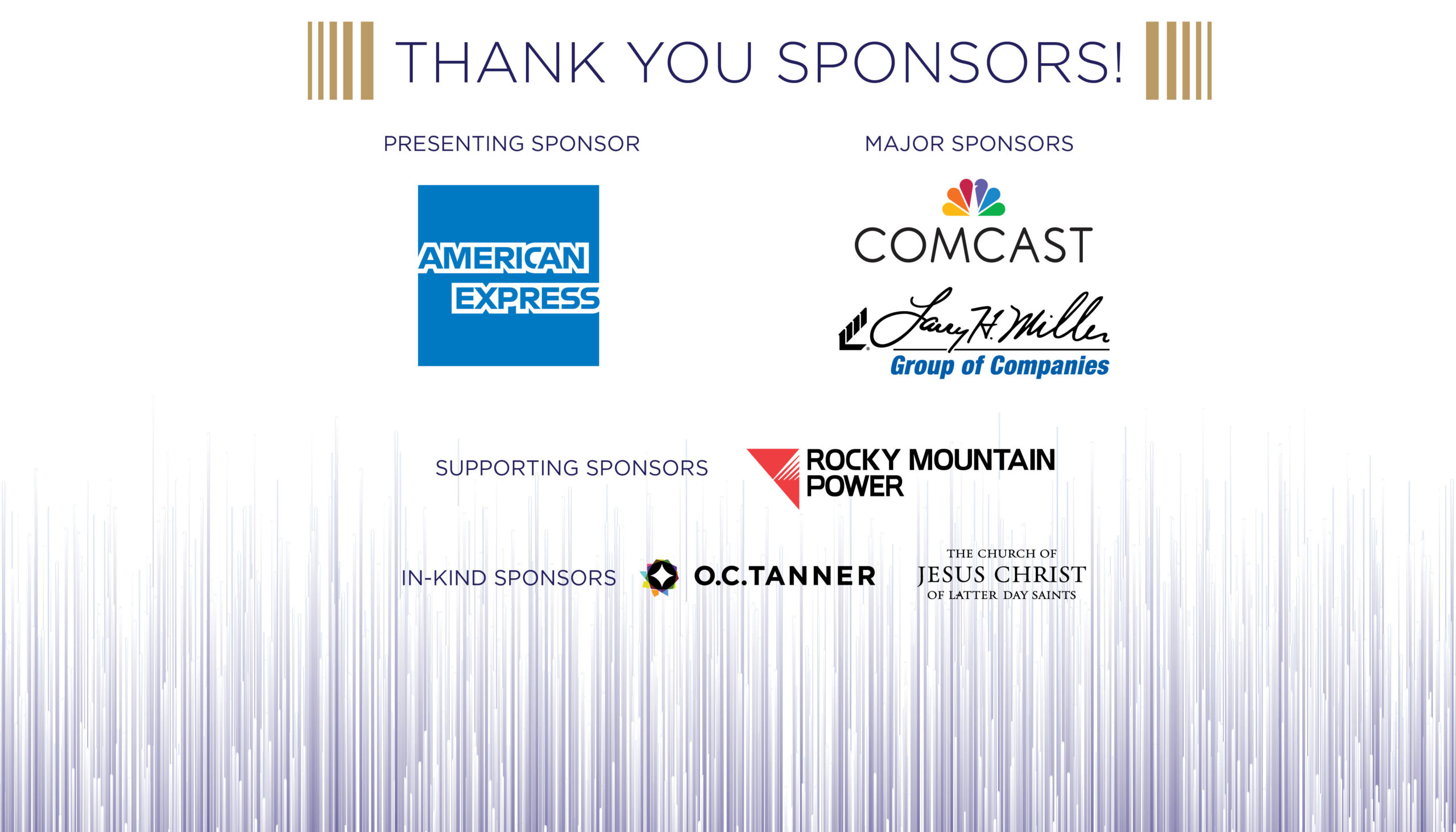Changemaker Awards Sponsors