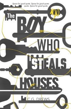 The Boy who Steals Houses unused cover 1