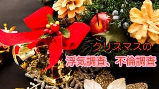 岡山県のクリスマスの浮気調査、不倫調査