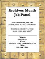 SAA-SC Archives Month Event