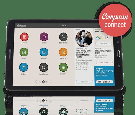 Compaan connect seniorentablet