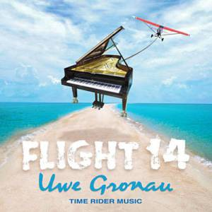 """CD-Cover """"Flight 14"""" von Uwe Gronau"""