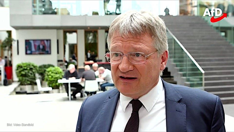 """Jörg Meuthen: """"Die Grünen haben den Kids die Hirne verkleistert"""""""