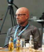 Eugen Prinz auf dem FreieMedien-Kongress in Berlin.