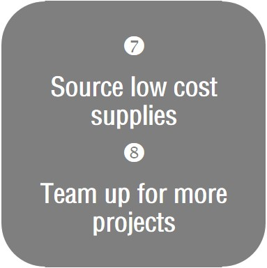 Source Supplies & Team Up