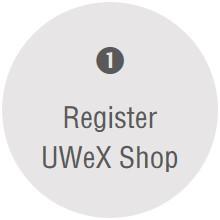 Register UWeX Shop