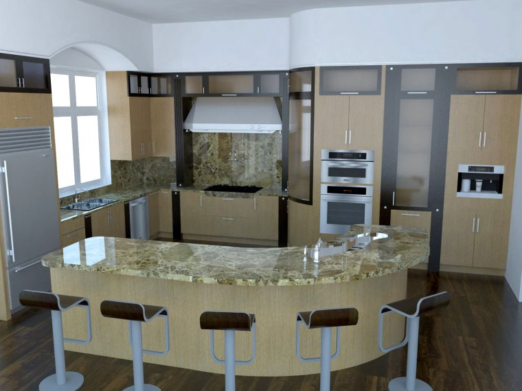 Kitchen by Ambience