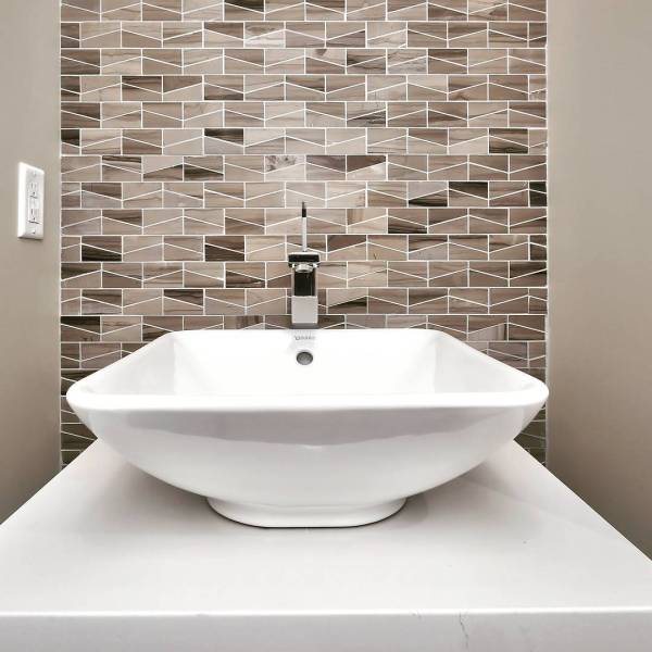 Feature Wall by Solē Ceramica - Design Inspirations