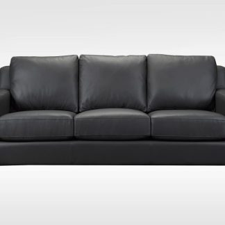Aiden leather sofa by Brentwood Classics