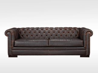kennedy leather sofa by Brentwood Classics