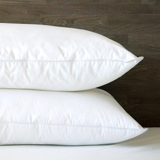 Motana White Goose Down Pillow by Cuddle Down Products