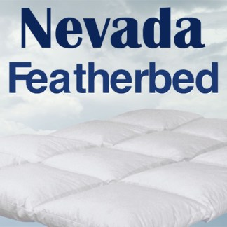 Nevada Featherbed by Cuddle Down Products