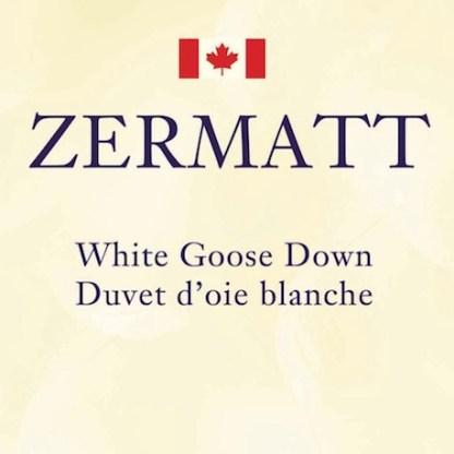 Zermatt Down by Cuddle Down Products