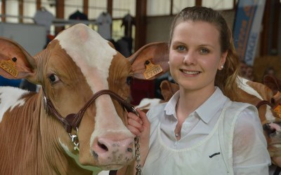 A French Girl & a Dairy Cow: A Love Story