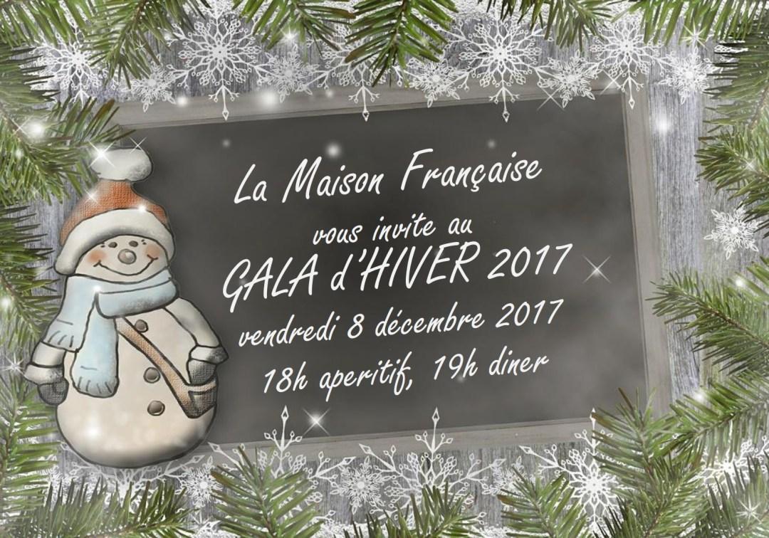 Gala d'Hiver invitation