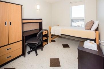 Double dorm bedroom 1