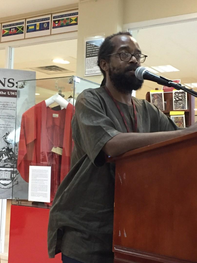 Panellist and Commemorative visit organiser Dr Michael Barnett: Visit not just important for Rasta but for the nation...