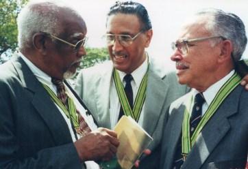 Drs Don Christian, Knox Hagley and Owen Minott