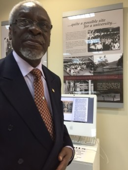 Prime Minister PJ Patterson in the museum