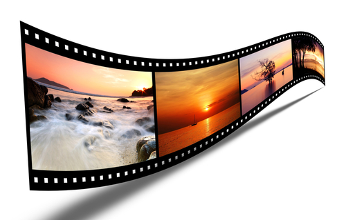 film_strip_with_images