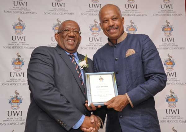 Prof Dale Webber and Prof Sir Hilary Beckles