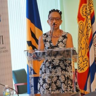 Professor the Most Honourable Eudine Barriteau – Pro Vice-Chancellor and Principal, The UWI Cave Hill
