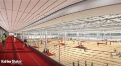 Nat track + gym concept