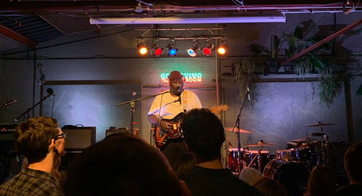 Jordan Mackampa Steals Show Live at Back Room at Colectivo